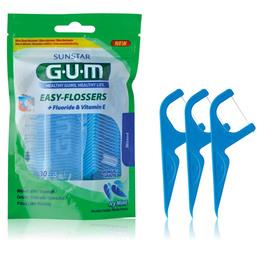 GUM Easyflossers Tandtråd 30 stk 30 stk.