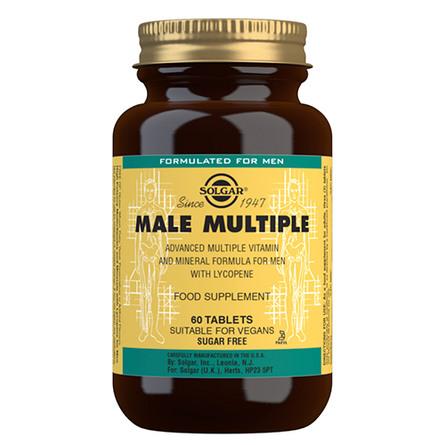 Male Multiple multivitamin til mænd 60 tab