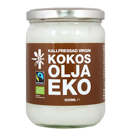 Superfruit Kokosolie ekstra jomfru Øko 500 ml