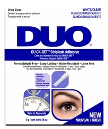 DUO Quick-Set Vippe lim Klar