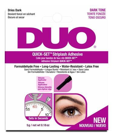 DUO Quick-Set Vippe lim Mørk