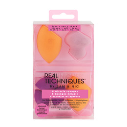 Real Techniques Miracle Complexion Sponge Set 6 stk.