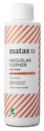 Matas Striber Neglelakfjerner med Acetone og Uden Parfume 200 ml
