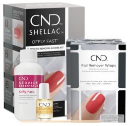 CND Shellac Offly Fast Remover Kit