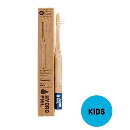 Tandbørste bambus børn blå 1 stk