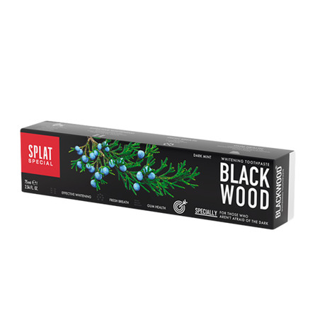 Tandpasta Blackwood uden fluor 75 ml