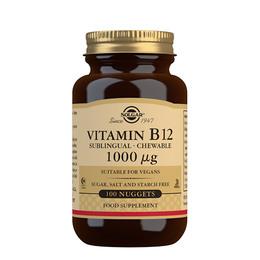 Solgar B12 vitamin 1000 mcg 30 tabl.