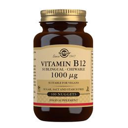 Solgar B12 Vitamin 1000 mcg 100 tabl.