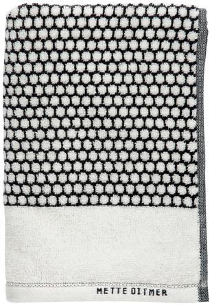 Mette Ditmer Grid Gæste Håndklæde 38 x 60 cm