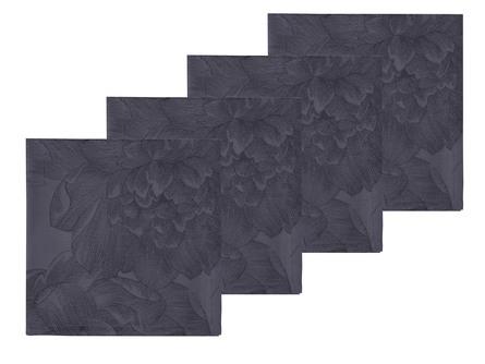 Södahl Servietter Modern Rose Grey 4 stk 45 x 45 cm