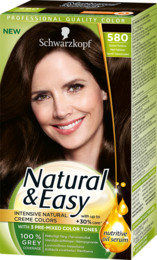 Schwarzkopf Natural & Easy 580 Mørkebrun