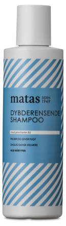 Matas Striber Dybderensende Shampoo 250 ml