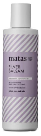Matas Striber Silver Balsam til Gråt og Blondt Hår 250 ml