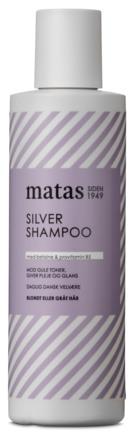 Matas Striber Silver Shampoo til Gråt og Blondt Hår 250 ml