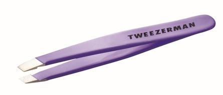 Tweezerman Pincet Mini Skrå Lavendel