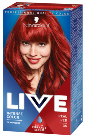 Schwarzkopf LIVE Intense Color 35 Real Red