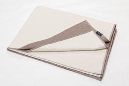 Fussenegger Velvet Blanket 135 x 200cm Beige/Brun