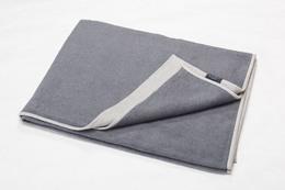Fussenegger Velvet Blanket 135 x 200 cm Grå/lLys grå