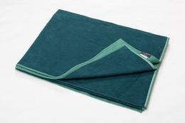 Fussenegger Velvet Blanket 135 x 200 cm Grøn/Mørk Grøn