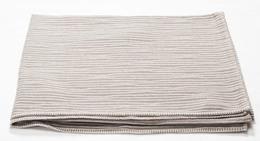 Fussenegger Nova Blanket 145 x 220 cm Beige/Hvid