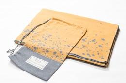 Fussenegger ECO Blanket 140 x 200 cm Gul/Grå