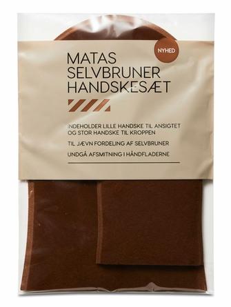 Matas Striber Selvbruner Handskesæt 2 stk.