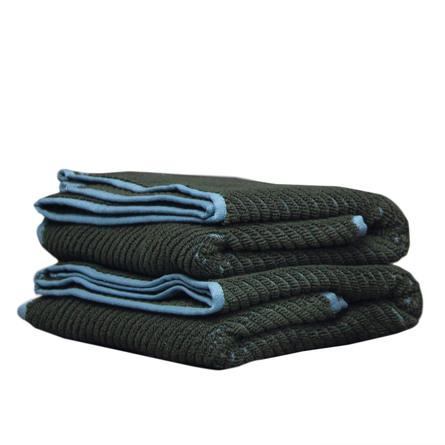 Mette Ditmer Diagonal Bath Towel Dark Forest 70 x 135 cm