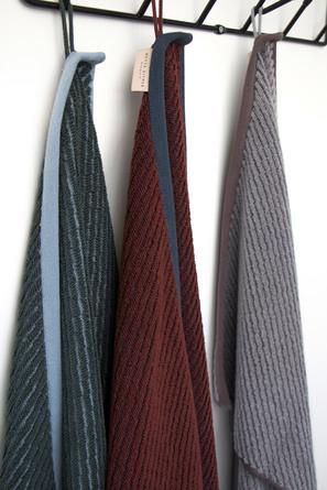 Mette Ditmer Diagonal Towel Dark Forest 50 x 95 cm