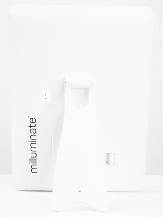 Milluminate LED-Makeupspejl Hvid