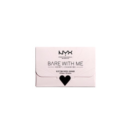 NYX PROFESSIONAL MAKEUP Bare With Me Hemp Blottning Paper 50 stk