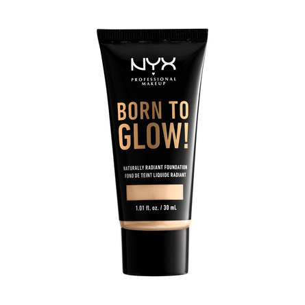 NYX PROFESSIONAL MAKEUP Born To Glow Naturally Radiant Foundation Pale