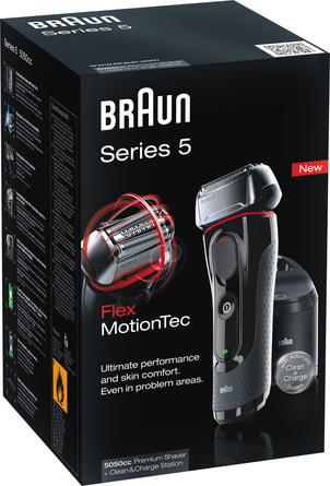 Braun Series 5 5050cc Elektrisk Barbermaskine