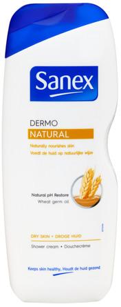 Sanex Dermo Natural Shower Gel 650 ml