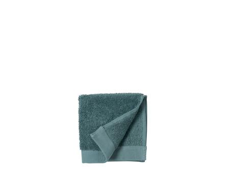 Södahl Vaskeklud Comfort Organic China Blue 30 x 30 cm