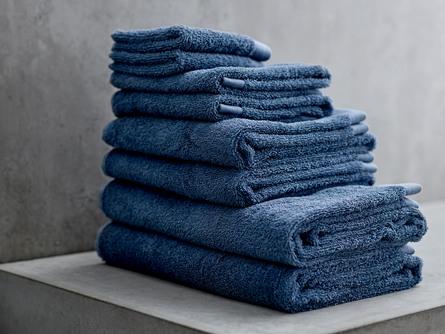 Södahl Håndklæde Comfort Organic China Blue 50 x 100 cm
