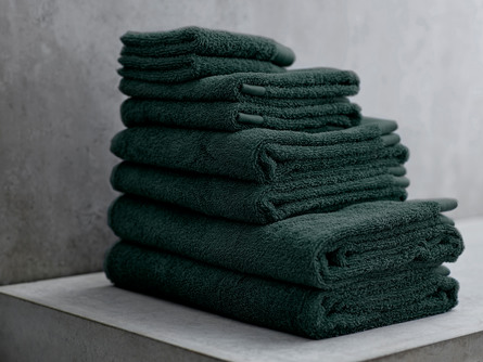 Södahl Vaskeklud Comfort Organic Deep Green 30 x 30 cm