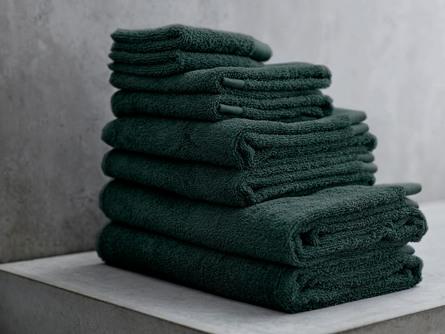 Södahl Håndklæde Comfort Organic Deep Green 50 x 100 cm