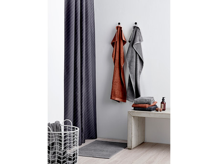 Södahl Bademåtte Plissé Grey 50 x 80 cm