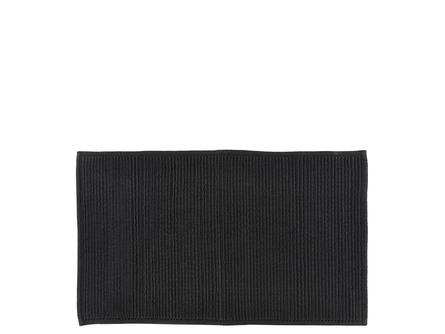 Södahl Bademåtte Plissé Black 50 x 80 cm