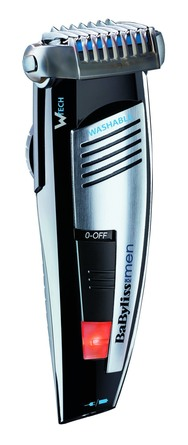 BaByliss 3-Day W-tech Stubble Trimmer & Shave