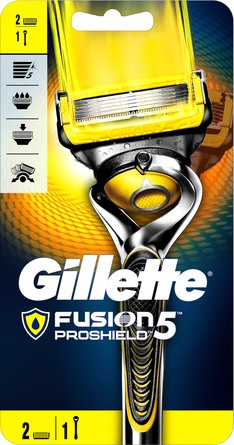 Gillette Proshield Manual barberskraber med ekstra blad