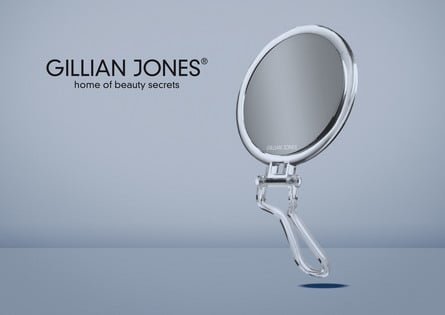 Gillian Jones Hånd-/Ståspejl 7 x forstørrelse