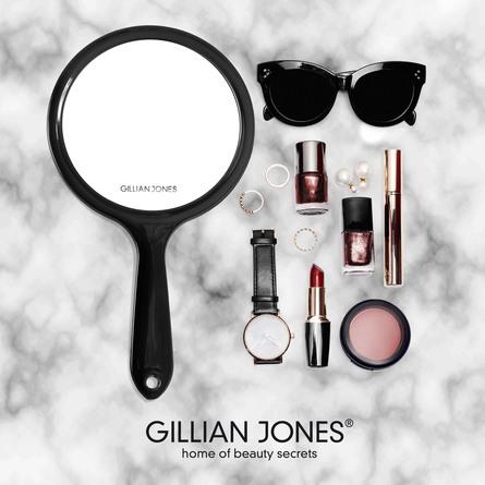 Gillian Jones 2-sidet Håndspejl Sort