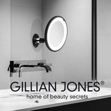 Gillian Jones Sugekopspejl med Lys 10 x forstørrelse