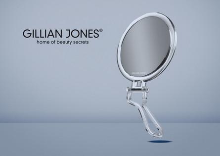 Gillian Jones Hånd-/Ståspejl 10 x forstørrelse