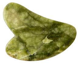 A Pure Mind Gua Sha Heart Grøn Jade