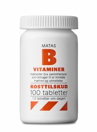 Matas Striber B-vitaminer 100 tabl.