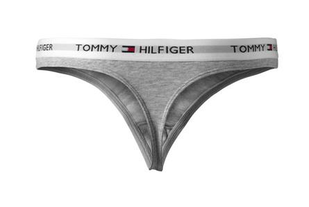 Tommy Hilfiger Undertøj Thong Grey str. S