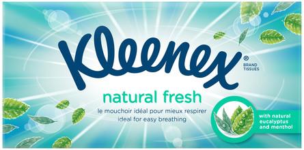Kleenex Balsam Fresh Lommepakke 8 x 9 stk
