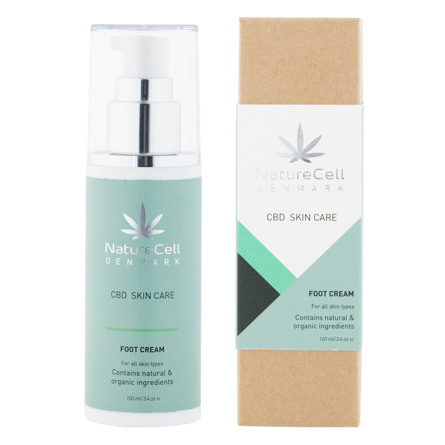 NatureCell Denmark CBD Foot Cream 100 ml